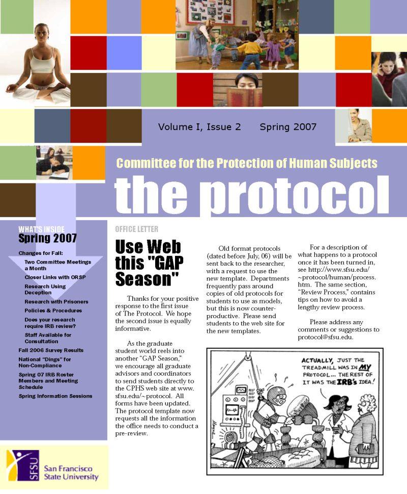 SFSU the Protocol